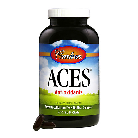 Carlson ACES, Vitamins A, C, E plus Selenium, softgels - 200 ea
