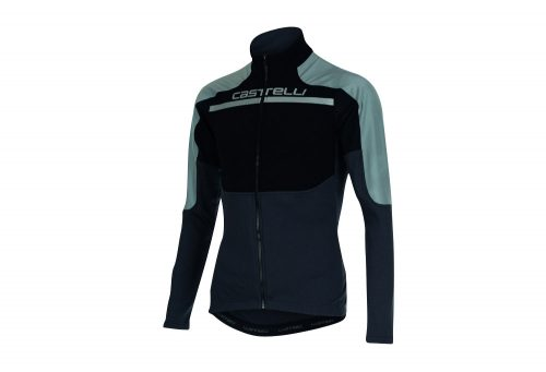 Castelli Secondo Strato Reflex FZ Jersey - Men's - black/reflex/anthracite, medium
