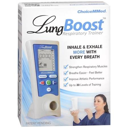 Choicemmed Lung Boost Respiratory Trainer - 1 ea