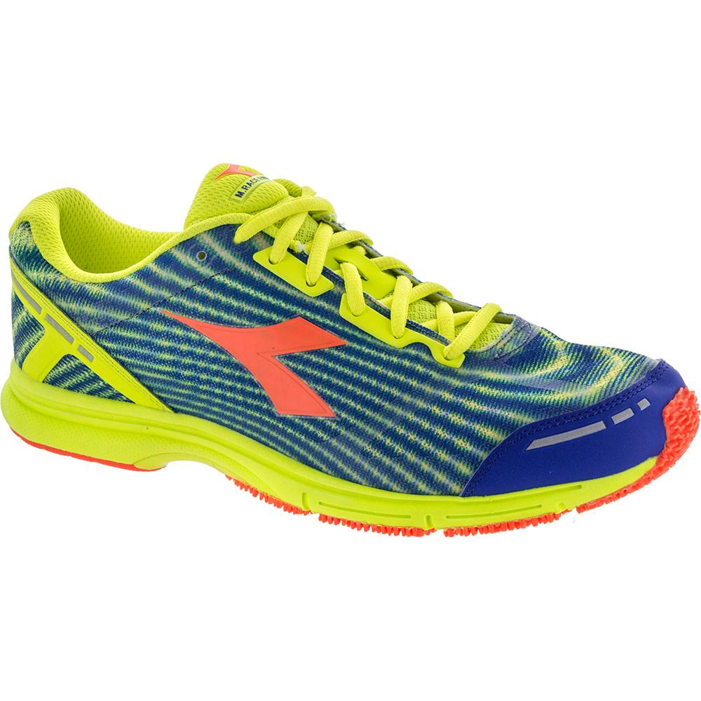 Diadora Mythos Racer Evo 3: Diadora Men's Running Shoes Yellow Fluo/Fluo Orange