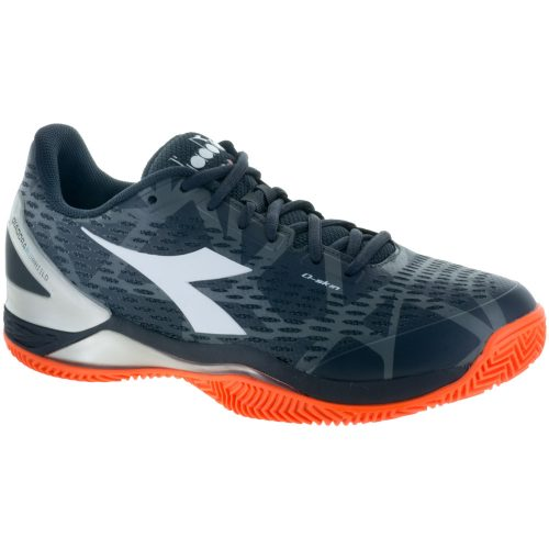 Diadora Speed Blushield 2 Clay: Diadora Men's Tennis Shoes Anthracite/White