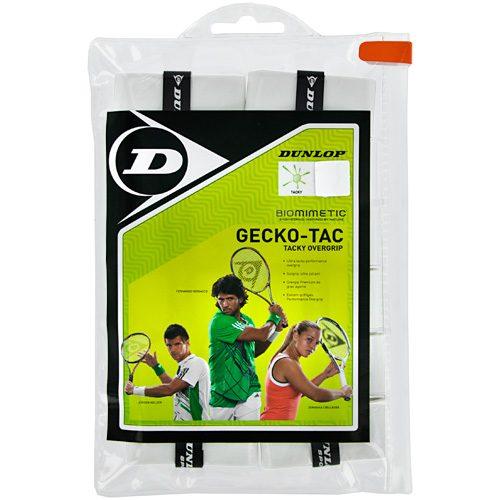 Dunlop Gecko-Tac Overgrip 12 Pack: Dunlop Tennis Overgrips