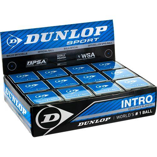 Dunlop Intro Ball 12 Balls: Dunlop Squash Balls