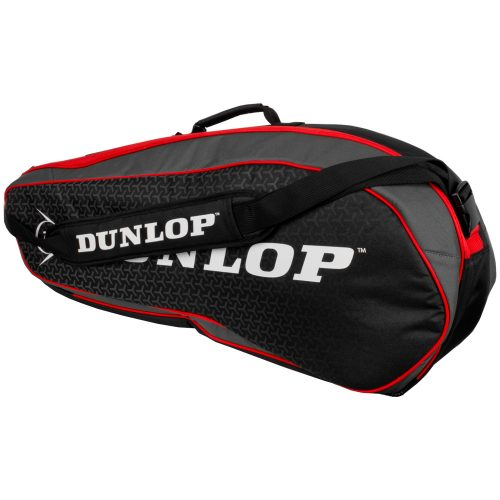 Dunlop Performance 3 Racquet Bag Red: Dunlop Tennis Bags