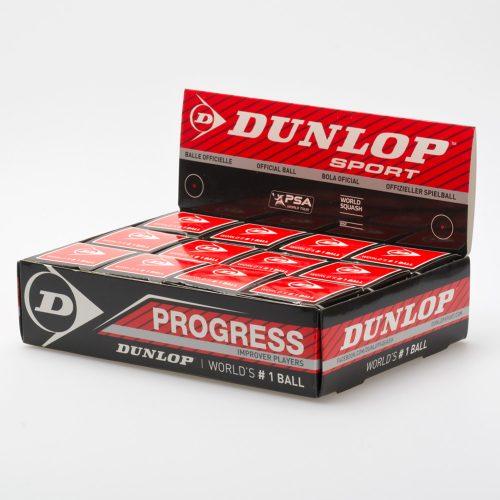Dunlop Progress 12 Balls: Dunlop Squash Balls