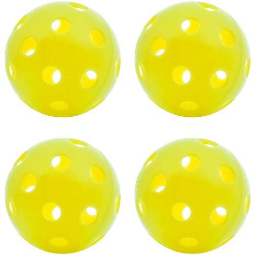 Dura Outdoor Pickleball 4 Pack: PickleballCentral Pickleball Balls