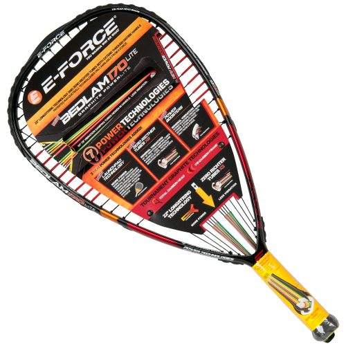 E-Force Bedlam 170 Lite 2016: E-Force Racquetball Racquets