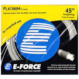 E-Force Platinum 17: E-Force Racquetball String Packages