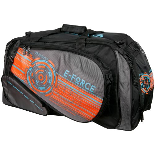 E-Force Racquetball Medium Travel Bag Black/Orange: E-Force Racquetball Bags