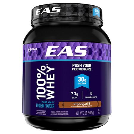 Eas 100% Whey Protein Powder Chocolate - 2 lb
