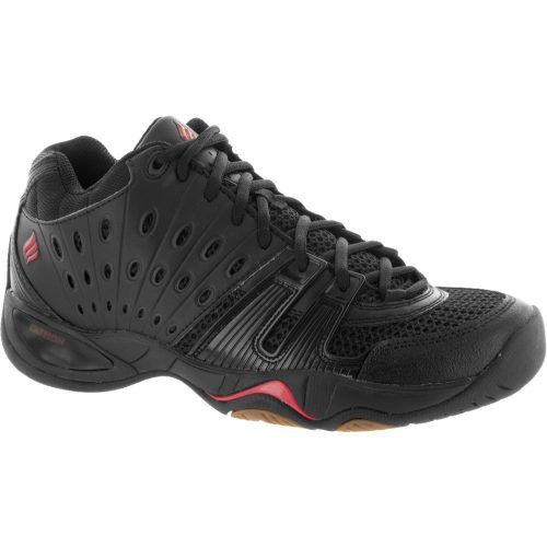 Ektelon T22 Mid: Ektelon Men's Indoor, Squash, Racquetball Shoes Black/Red