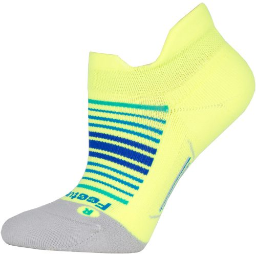 Feetures Elite Light Cushion Sunrise Collection No Show Tab Socks: Feetures Socks
