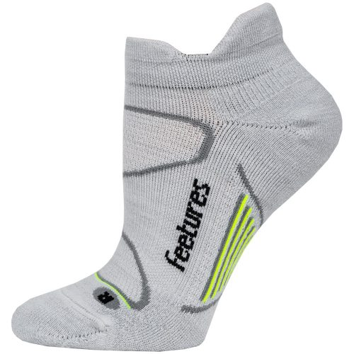 Feetures Elite Merino Cushion No Show Tab Socks: Feetures Socks