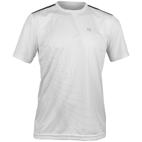 Fila Break Point Pieced Crew: Fila Men's Tennis Apparel