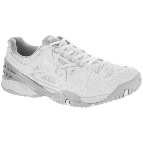 Fila Cage Delirium: Fila Women's Tennis Shoes White/White/Metalic Silver