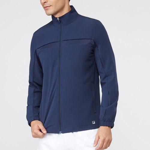 Fila Fundamental Jacket: Fila Men's Tennis Apparel