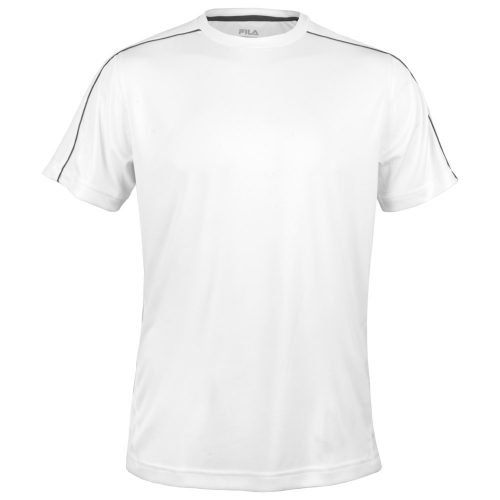 Fila Fundamental Piped Crew: Fila Men's Tennis Apparel