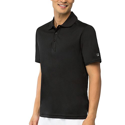 Fila Fundamental Solid Polo: Fila Men's Tennis Apparel