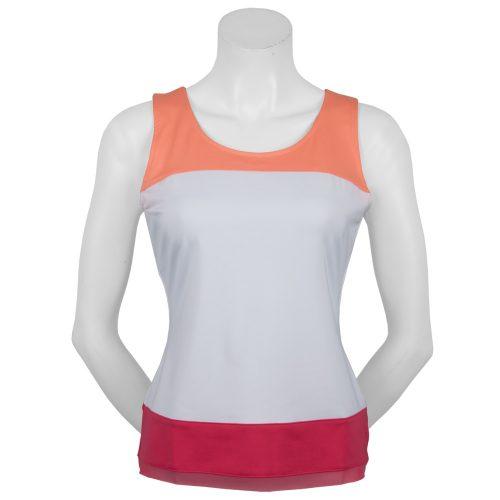 Fila Illusion Impact Color Blocked Tank: Fila Women's Tennis Apparel