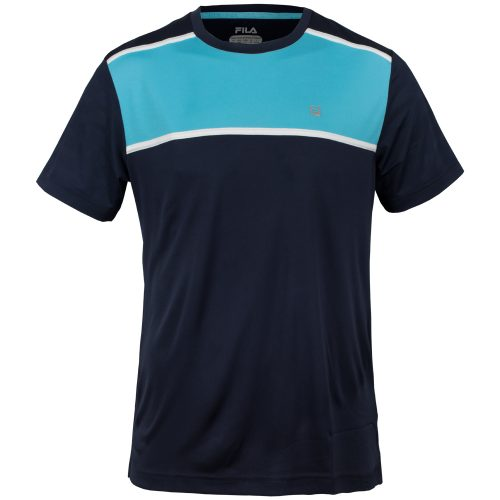 Fila Legend Colorblocked Crew: Fila Men's Tennis Apparel