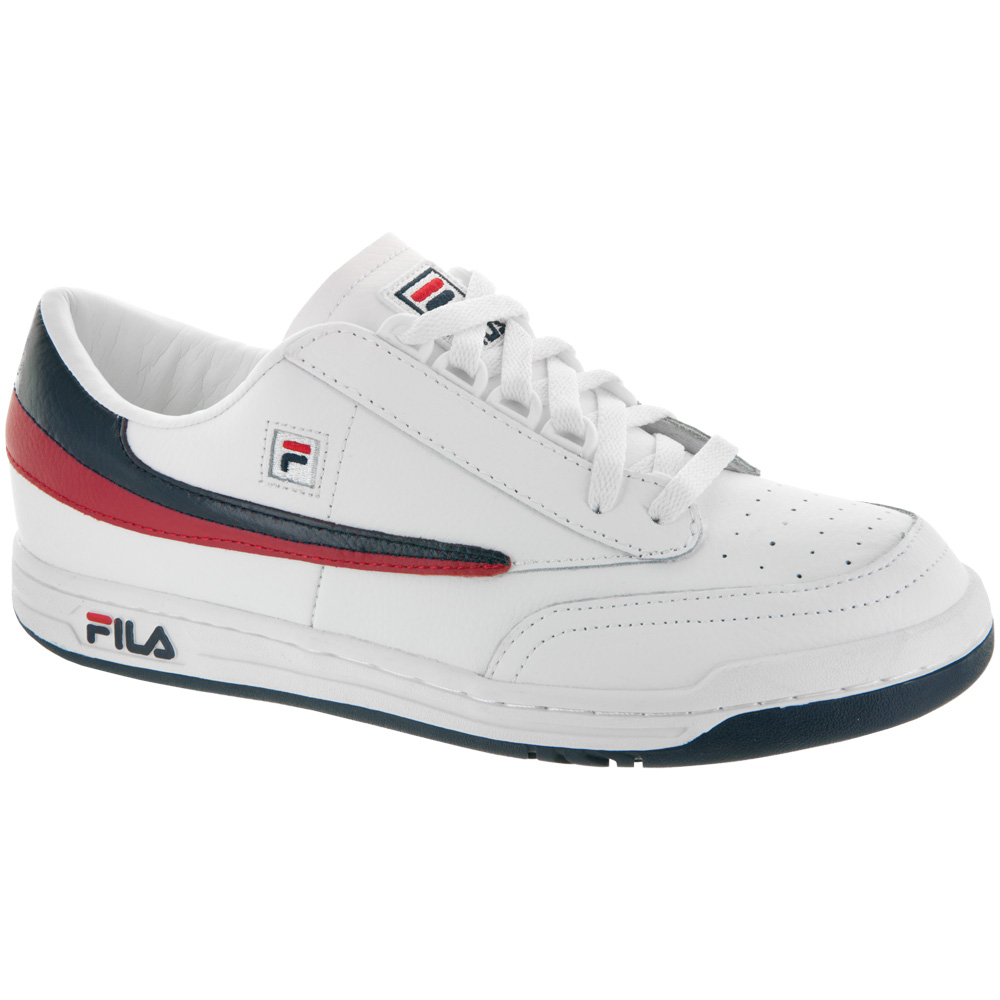 Fila Original Tennis: Fila Men's Tennis Shoes White/Fila Navy/Fila Red