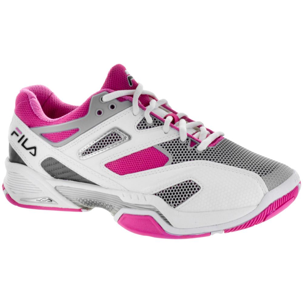 Fila Sentinel: Fila Women's Tennis Shoes WhitePinkGray