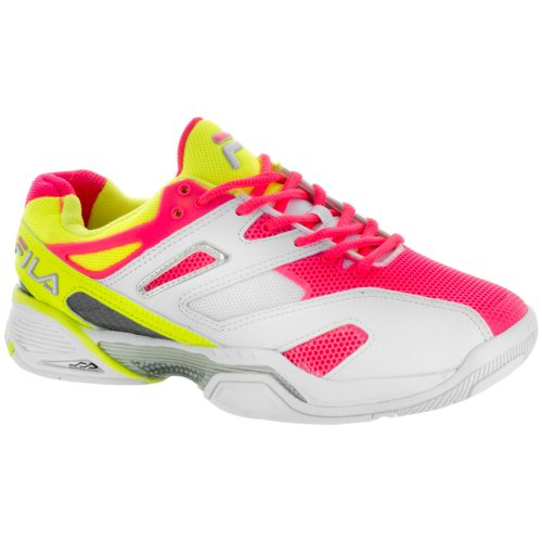 Fila Sentinel: Fila Women's Tennis Shoes White/Yellow/Pink