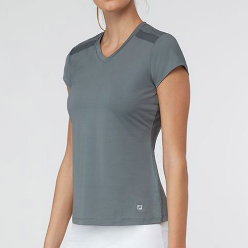 Fila Simply Smashing Cap Sleeve Top: Fila Women's Tennis Apparel