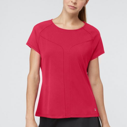 Fila Sleek Short Sleeve Top: Fila Women's Tennis Apparel