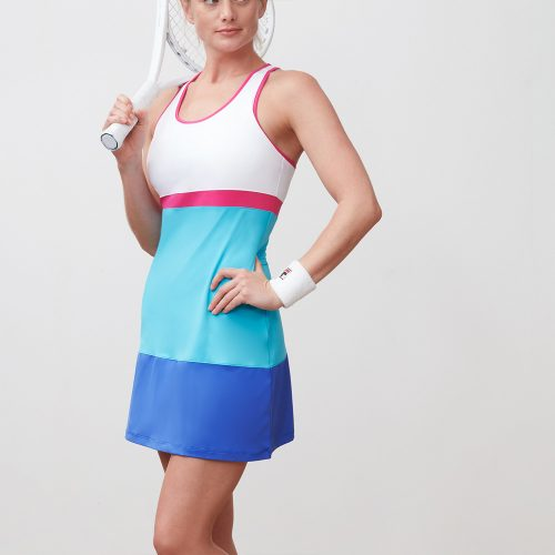 Fila Sweetspot Colorblocked Dress: Fila Women's Tennis Apparel