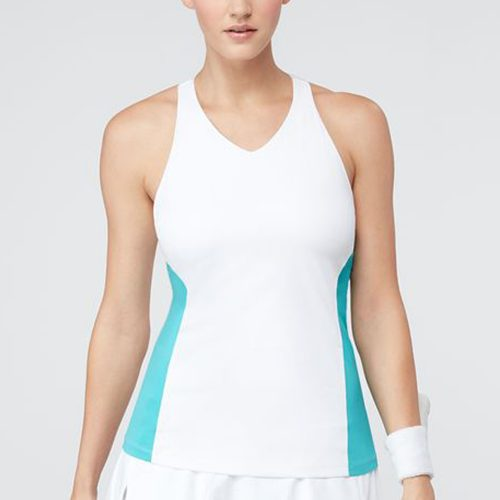Fila Tropical Crossback Tank: Fila Women's Tennis Apparel
