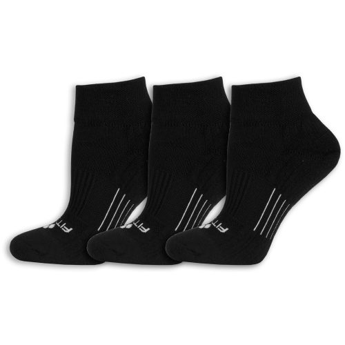 Fitsok CF2 Cushion Quarter Socks 3 Pack: Fitsok Socks