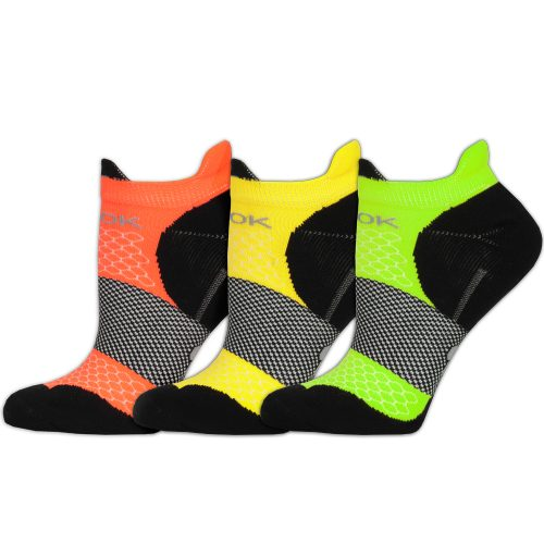 Fitsok F4 Tech No Show Socks 3 Pack: Fitsok Socks