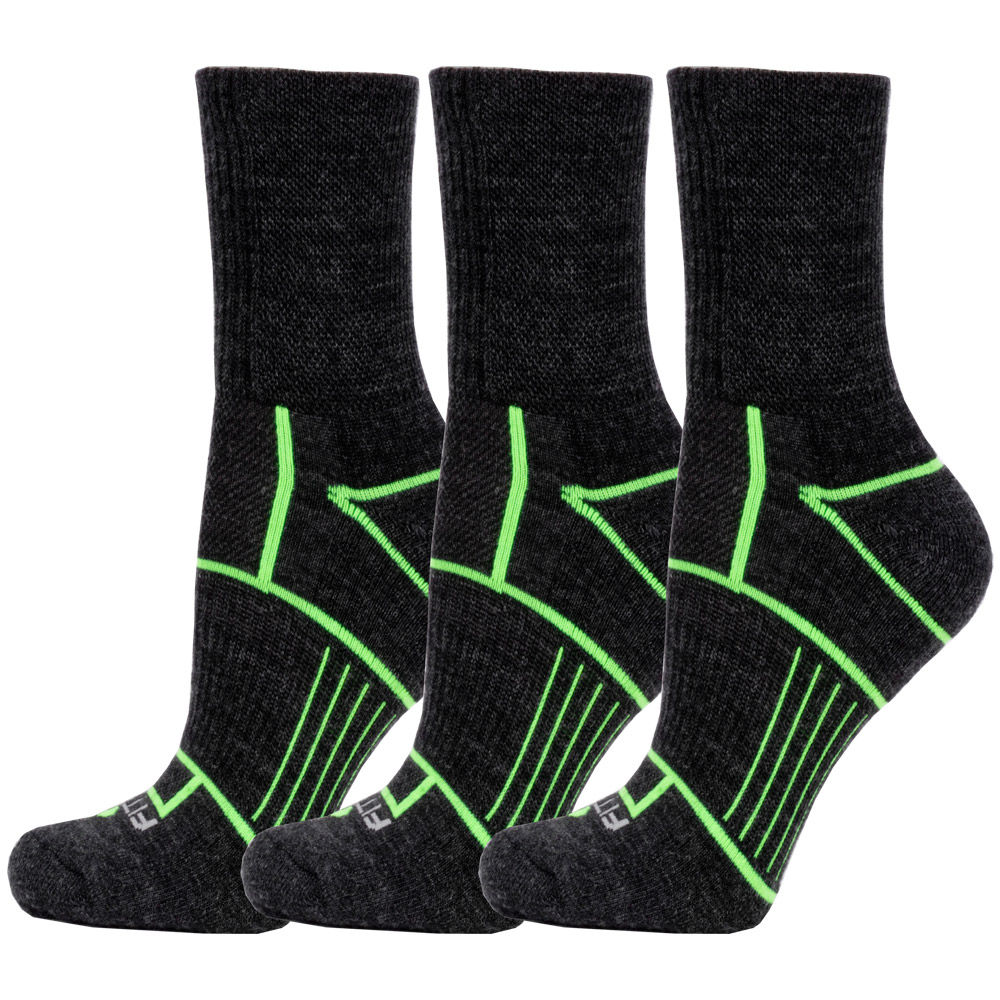 Fitsok ISW Isolwool Trail Cuff 3 Pack: Fitsok Socks