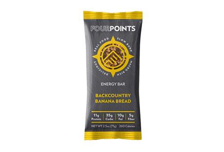 Fourpoints Backcountry Banana Bread Bar - Box of 12