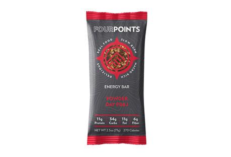 Fourpoints Powder Day PB&J Bar - Box of 12