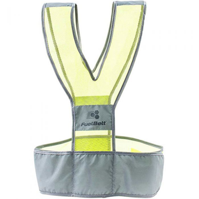 FuelBelt Neon Vest: Fuel Belt Reflective, Night Safety