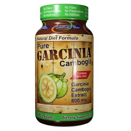 Fusion Diet Systems Pure Garcinia Cambogia 800mg, Capsules - 60 ea