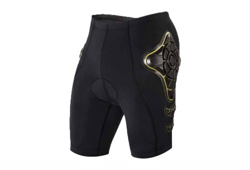 G-Form Pro-B Bike Compression Shorts - Men's - black/yellow, x-large