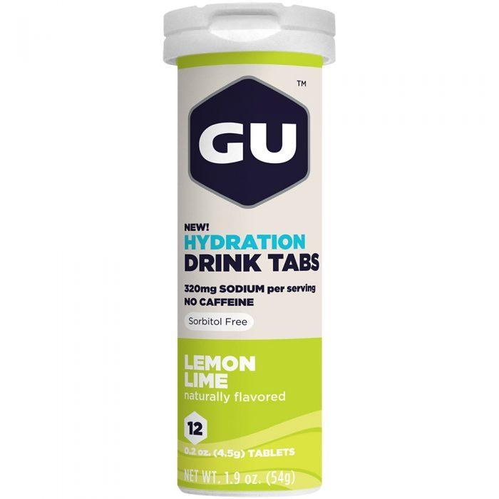 GU Hydration Drink Tabs 1 Tube: GU Nutrition