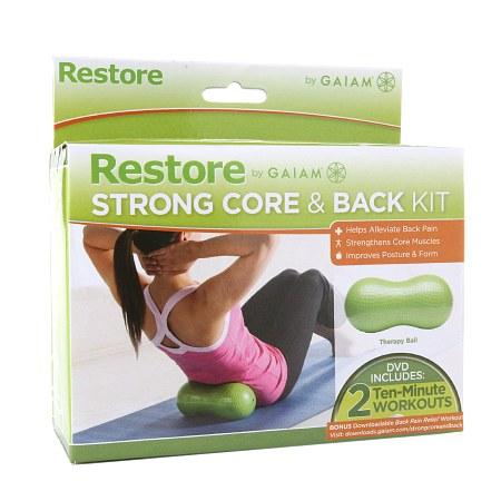 Gaiam Restore Strong Core & Back Kit - 1 ea