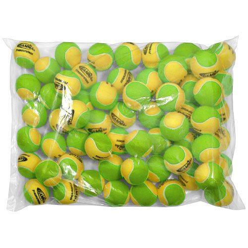Gamma 2 Tone Pressureless Bag of 60: Gamma Tennis Balls