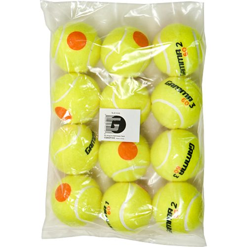 Gamma 60 Orange Dot 12-Pack: Gamma Tennis Balls
