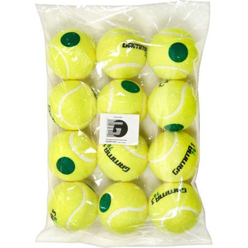 Gamma 78 Green Dot 12-Pack: Gamma Tennis Balls