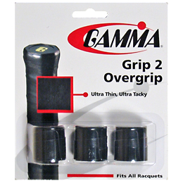 Gamma Grip 2 Overgrip 3 Pack: Gamma Tennis Overgrips