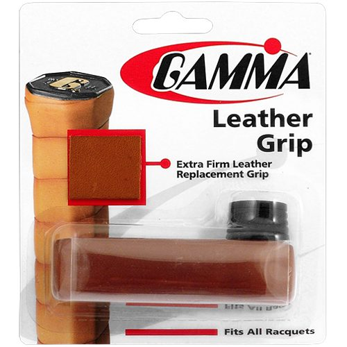 Gamma Leather Replacement Grip: Gamma Tennis Replacet Grips