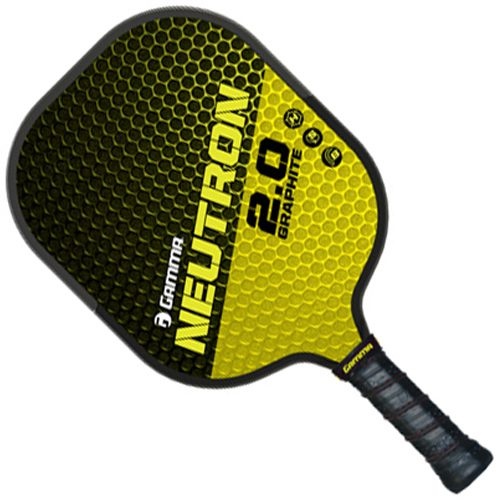 Gamma Neutron 2.0 Graphite Paddle: Gamma Pickleball Paddles