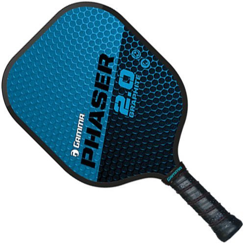 Gamma Phaser 2.0 Graphite Paddle: Gamma Pickleball Paddles
