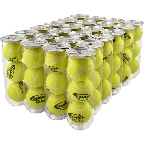 Gamma Practice 24 Cans: Gamma Tennis Balls