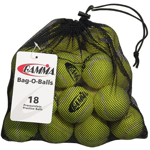 Gamma Pressureless Bag of 18: Gamma Tennis Balls